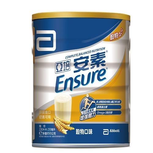 亞培安素優能基均衡營養配方-穀物口味850g【愛買】