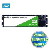 WD 綠標 240GB M.2 2280 SATA 3D NAND SSD 固態硬碟 WDS240G2G0B