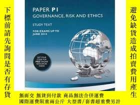 二手書博民逛書店ACCA罕見PAPERPI GOVERNANCE,RISK AN