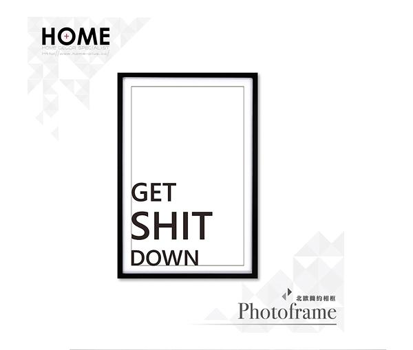 【南紡購物中心】Get Shit Down 簡約款 相框裝飾畫 63x43cm