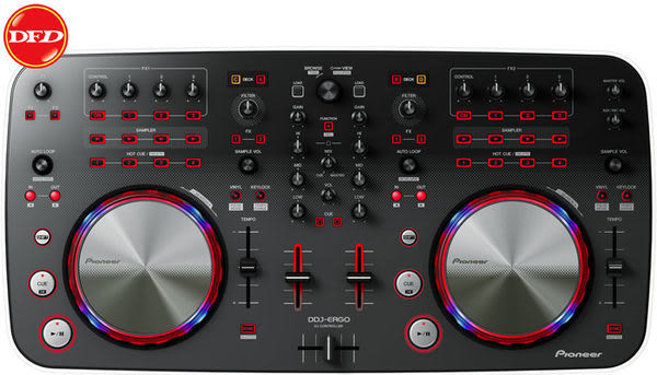 限量現貨▸▸(下殺) 先鋒 Pioneer DDJ-ERGO-V DJ混音器(Mixer) 公貨 Virtual DJ控制器 送 NUFORCE HP800 耳機