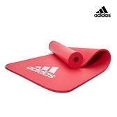 Adidas-全功能波紋健身墊 - 10mm (石榴紅)