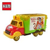 【日本正版】TOMICA 小熊維尼 宣傳車 玩具車 Winnie Disney Motors 多美小汽車 - 115458