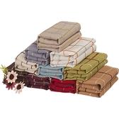 桌巾美式桌布布藝棉麻長方形格子日式小清新茶幾圓桌方餐桌蓋布巾 嬡孕哺