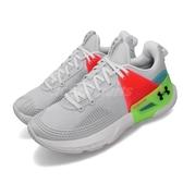 Under Armour UA 訓練鞋 HOVR Apex 灰 橘 女鞋 運動鞋 【PUMP306】 3022209100