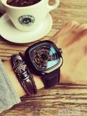手錶 2019新款男士手錶男表學生全自動鏤空機械表潮流特種兵方形大表盤 polygirl