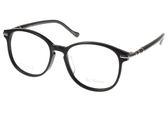 PAUL HUEMAN 光學眼鏡 PHF00715D 05 (黑-銀) 超人氣熱銷大框款 眼鏡框 #金橘眼鏡