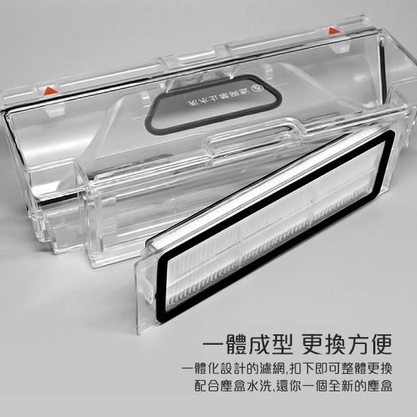 【刀鋒】小米 米家掃地機器人塵盒濾網 小米掃地機器人配件 2入一組 吸塵器 濾網盒 原廠正品
