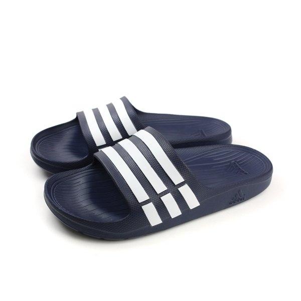 ADIDAS DURAMO SLIDE 男女款運動拖鞋 NO.G15892