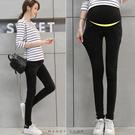 【MN0220】腰可調百搭黑色系窄管牛仔褲