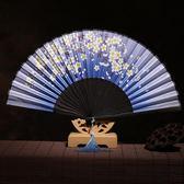 扇子折扇中國風復古女扇子夏季女式折疊扇用古風折扇 LI1323『時尚玩家』