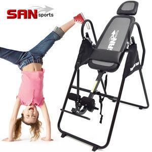 保健康折疊倒立機(無重力迴轉式倒立器.科技倒立椅倒吊椅.拉筋機拉筋板SAN SPORTS推薦哪裡買