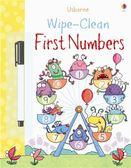 Wipe-Clean First Numbers 可擦拭練習本:算數1 2 3