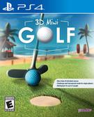 PS4 3D 迷你高爾夫(美版代購)