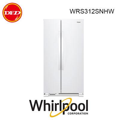 惠而浦 WHIRLPOOL WRS312SNHW 對開門冰箱 640L 台灣惠而浦公司貨  ※運費另計(需加購)