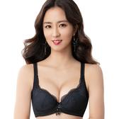 思薇爾-撩波系列A-E罩蕾絲包覆內衣(黑色)