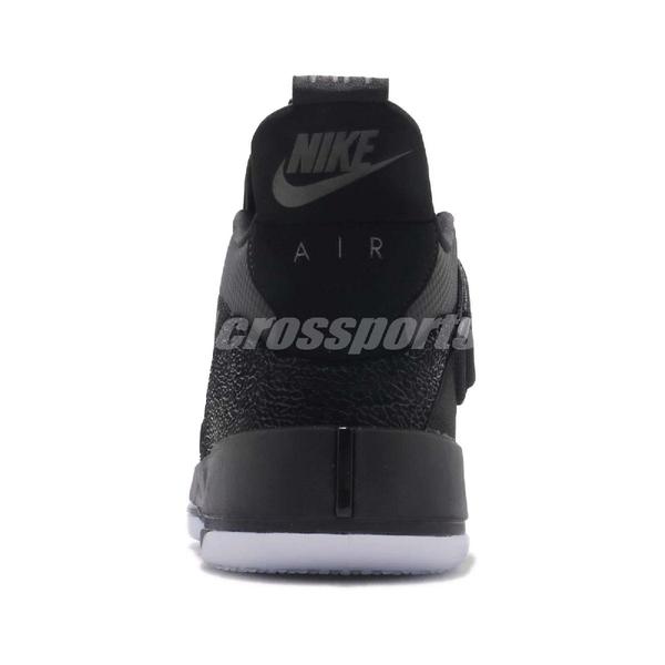 【US9-NG出清】Nike Air Jordan XXXIII PF 鞋頭黑點 黑 喬丹 男鞋 籃球鞋 AJ33【ACS】