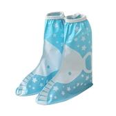 南極人兒童雨鞋套加厚防滑耐磨男女寶寶小學生幼兒腳套防水雨鞋套「錢夫人小鋪」