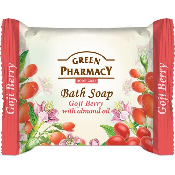 【Green Pharmacy 草本肌曜】枸杞&甜杏仁緊膚皂 100g (一般肌適用)