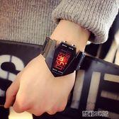 手錶 別樣韓國夜光led原宿風潮流學生時尚男女情侶多功能運動電子手錶 酷動3C