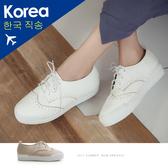 休閒鞋.雕花厚底休閒鞋-FM時尚美鞋-韓國精選. TeaTime