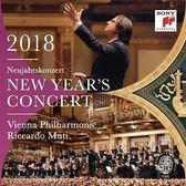 2018維也納新年音樂會 黎卡多慕提 & 維也納愛樂 2CD 免運 (購潮8)