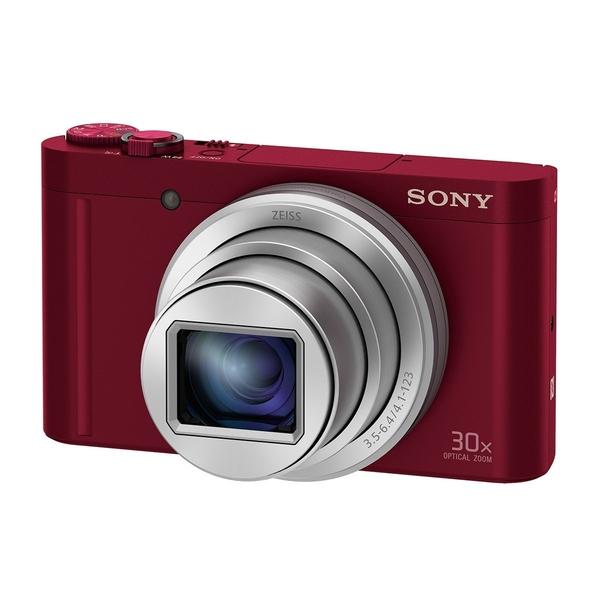 SONY 數位相機 DSC-WX500/R 紅色