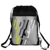 足球包訓練包足球袋兒童簡易書包束口袋抽繩雙肩包裝備包鞋包 DJ8573『麗人雅苑』