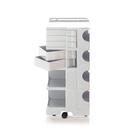 【預購】B-Line Boby Storage Mod.L H94.5cm 巴比 多層式系統 收納推車 - 特高尺寸 (五抽屜收納) 白色