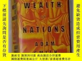 二手書博民逛書店英文原版罕見The Wealth of Nations by A