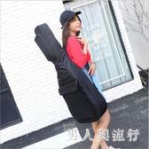 黑色吉他包 41寸雙肩加厚防水民謠40寸琴包袋男女初學者通用 DR21717【男人與流行】