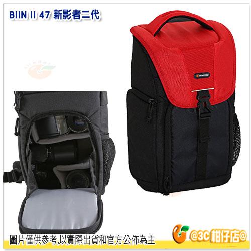 精嘉 VANGUARD BIIN II 47 新影者 二代 公司貨 單肩後背包 攝影背包 類單 微單 側取 相機包