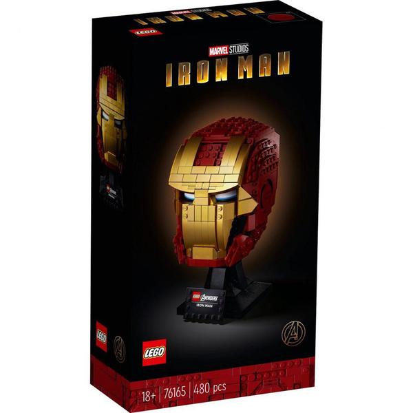 樂高積木 LEGO《 LT76165 》SUPER HEROES 超級英雄系列 - Iron Man Helmet / JOYBUS玩具百貨