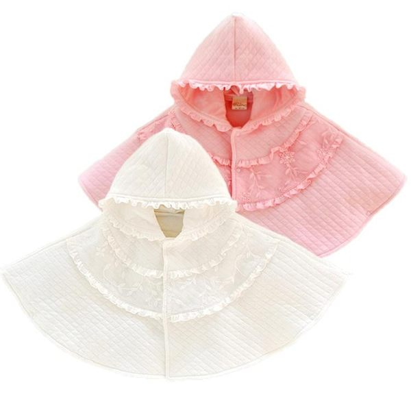 秋冬純棉嬰兒深秋入冬微厚防風外出披肩 YY1572『東京衣社』