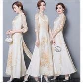 2018新款中國風氣質女裝中式修身改良旗袍 st2278『伊人雅舍』
