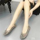 果凍鞋羅馬風春夏季新款女鞋網狀鏤空包頭平跟平底女涼鞋 道禾生活館