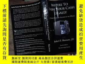 二手書博民逛書店WHERE罕見TO STASH YOUR CASH LEGALL
