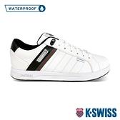 【超取】K-SWISS Lundahl WP防水時尚運動鞋-男-白/黑/綠/紅