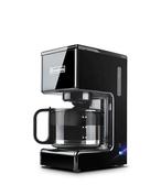 交換禮物咖啡機美式咖啡機家用全自動小型滴漏式迷你煮咖啡泡茶一體現磨冰咖啡壺 LX