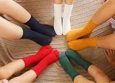 男女童襪厚款中短筒襪兒童襪子純棉