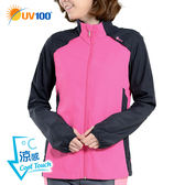 快速出貨 UV100 防曬 抗UV-涼感輕薄立領運動外套-輕巧收納
