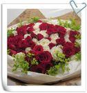 (YO-52)網路人氣情意花坊超級商城永和花店~99朵玫瑰花我的ㄧ顆熱情如火的心~配送全台