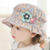女兒童帽子春秋公主女孩太陽帽夏季薄0-1-3歲兒童防曬兒童遮陽帽