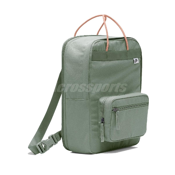 Nike 後背包 Tanjun Backpack 綠 橘 男女款 抹茶色 運動休閒 【ACS】 BA6097-353