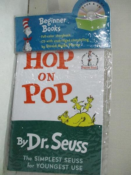 【書寶二手書T1/原文小說_ET2】Hop on Pop_Seuss, Dr./ Pierce, David Hyde (NRT)