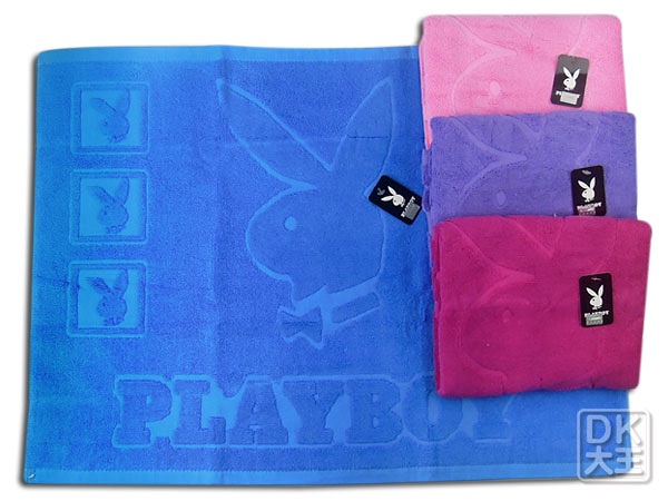 PLAYBOY 純棉枕巾 (2入) ~DK襪子毛巾大王