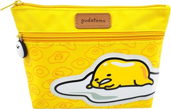 蛋黃哥化妝包 Gudetama Cosmetic bag ぐでたま 化粧品バッグ GU-1602A4