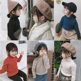初冬新款兒童高領毛衣韓版女童多色針織打底衫潮 千惠衣屋