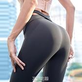 瑜伽服健身長褲女高腰提臀緊身彈力收腹蜜桃速干跑步運動套裝外穿 快速出貨