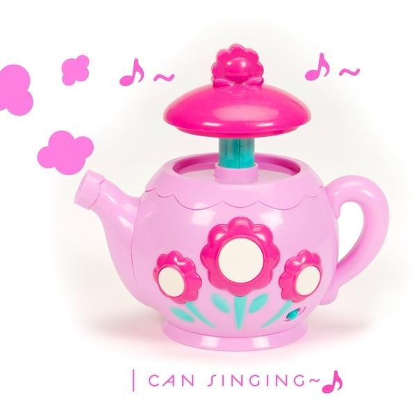 【美國B.Toys】愛莉絲的音樂茶壺